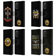 Official Guns Nand039 Roses Key Art Leather Book Wallet Case For Samsung Phones 1