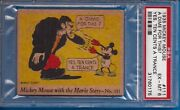1935 R90 Mickey Mouse With The Movie Star 111 Lionel Barrymore Psa 7