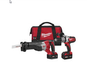Milwaukee 269022 M18andtrade Cordless Lithiumion 2 Tool Combo Kit