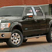 2004-09 2010 11 12 13 2014 Ford F150 4dr 4pc Stainless Steel Pillar Posts Covers