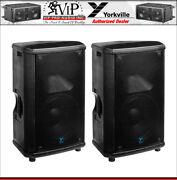 Yorkville Nx55p-2 Pro Active 2-way 12 1200w Amplified Powered Pa Speaker -pair-