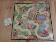 Uncle Wiggly Replacement Parts Game Board Only Half Fold 1988 Milton