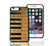 Luxury Wood Music Piano Smartphone Bamboo Case Cover Apple Iphone And Samsung Gift