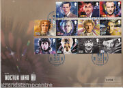 2013 Dr Who 50th Anniversary Cover - Tardis Handstamp