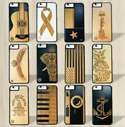 Luxury Wood Smartphone Cases Cover Wood/bamboo 32 Designs Apple Iphone And Samsung