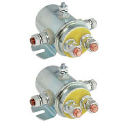 2 Solenoid Relay Switch For Prestolite And Ramsey Winch Golf Continuous Duty 12v
