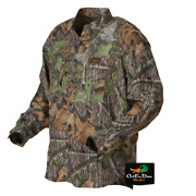 New Banded Gear Mid Weight Turkey Hunting Shirt Obsession Camo Large