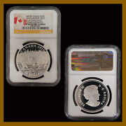 Canada 20 Dollars Silver Coin, 2014 Deer Challenge Early Releases Ngc Pf 69