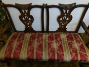 Antique English Mahogany Settee Couch  Sale