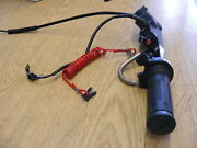 Suzuki Outboard Df2.5 Tiller Handle 63111-97j20-0ep Throttle Asy Cable Case 4-st