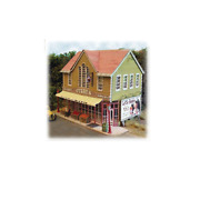 Bar Mills Ho Scale 1/87 Curry's Mercantile Building Kit | Bn | 562