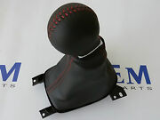 2010-2012 Chevrolet Camaro Ss Manual Shifter Boot Black Leather New Oem