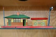 American Flyer Pre-war 237 Station Set In Very Good C6 Condition - Type V