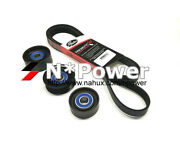 Gates Drive Belt And Pulley Set For Holden Colorado Rg 6.12-on 2.8l Turbo Lwh