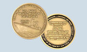 Decommissioning Uss Fife Dd-991 Destroyer Navy Challenge Coin