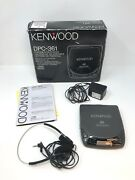 Vintage Kenwood Dpc-361 Portable Cd Player With Headphones Tested Works