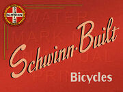 24 X 18 Reproduced Vintage Schwinn Bicycle Sign On Graphic Canvas