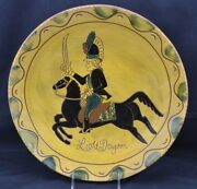 Huge Redware Charge Breininger Light Dragoon 14 10/5/98 A Cool Morning