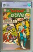 Hawk And The Dove 1 Cbcs 9.0 Cr/ow Pages
