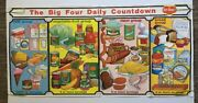 Del Monte Vintage Poster Advertisement Food Promo Pin-up 1960s Big Four Daily