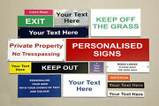 Plaques And Signs Engraved - Ideal For Indoor / Outdoor Use