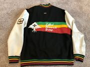 Super Rare Lrg Lifted Research Group Jacket Paylays Last Letterman Jamaica 3xl