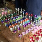 Glass Pens Made By Hand Hand Painted Any Color Available
