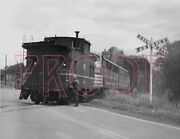 Wellsville, Addison And Galeton Wag Caboose C104 With Diesel Engine - 8x10 Photo