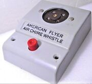 American Flyer No. 708 Air Chime Whistle Control Box Without Signal Generator