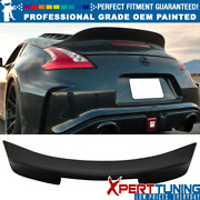 Fits 09-20 Nissan 370z Ikon Style Duckbill Trunk Spoiler - Oem Painted Color