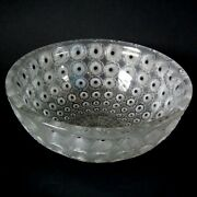 Rene Lalique Clear And Frosted Glass And039nemoursand039 Bowl