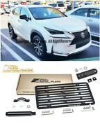 Eos For 2015-2018 Lexus Nx W/ Pdc   Front Tow Hook License Plate Mount Bracket