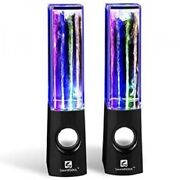 Led Water Speakers Fountain Show Computer Accessories Home Decoration Fun