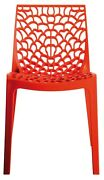 Gruvyer Indoor Outdoor Dining Chairs From Italy Stackable Strong 2 Chairs