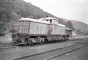 Wellsville, Addison And Galeton Wag Switcher 1500 At Galeton In 1956- 8x10 Photo
