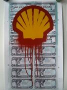 Beejoir - Shell Blood For Oil 2 Le/125 Giclee Print Poster