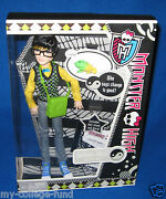Monster High Jackson Jekyll With Crossfade Pet And Diary New