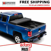 19-20 Chevy Silverado 1500 With 5.7and039 Bed Extang Solid Fold 2.0 Tonneau Cover