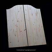 Cafe Door Knotty Pine 32w Saloon Swinging Pub Western Bar Choice Of Hinges