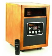 New Electric 1500 Watt Infrared Portable Space Heater Dual Heating System