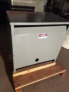 Square D 75t64h Sorgel 3 Phase Insulated 75 Kva Transformer 480y/277 - 208v 3p