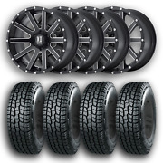 4 Wheels And Tires Kmc Xd 818 Heist 20x9 6x139.7 +18 Mounted And Balanced Free Ship