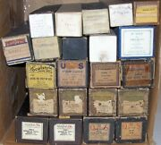 Big Lot Of 22 Antique Player Piano Music Rolls Old Time Vintage Song Collection