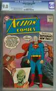 Action Comics 239 Cgc 9.0 Cr/ow Pages // Curt Swan Silver Age Superman Cover