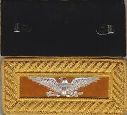 Indian War Cavalry Colonel Shoulder Boards Straps W/ Frock Clips W/free Token