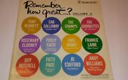 Remember How Great.... Volume 2 Collectors Series Vinyl Record