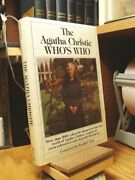 The Agatha Christieand039s Whoand039s Who Hardback Book The Fast Free Shipping