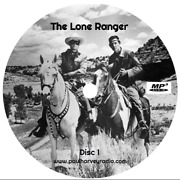 Lone Ranger 1,044 Shows Old Time Radio Mp3 10 Cd's