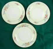 3 Homer Laughlin H41 N5 Eggshell Nautilus Cashmere 6 Bread And Butter Plates T07