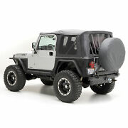 Smittybilt Replacement Part Repl Soft Top Tinted Win 97-06 Tj No Upper Dr 997123